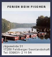 Ferien beim Fischer - Urlaub in Carwitz