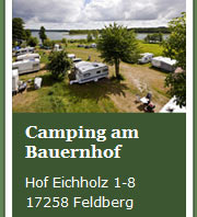 Camping am Breiten Luzin / Feldberger Seenlandschaft