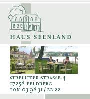 Haus Seenland in Feldberg / Mecklenburgische Seenplatte
