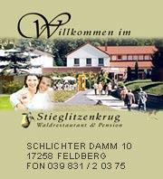 Hotel Stieglitzenkrug in der Meckleburgischen Seenplatte