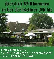 Krüseliner Mühle - Feldberger Seenlandschaft
