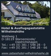 Hotel Wilhelmshöhe in Warnemünde