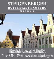 Steigenberger Hotel in Wismar