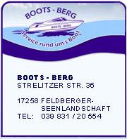 Service rund um's Boot in der Feldberger Seenlandschaft