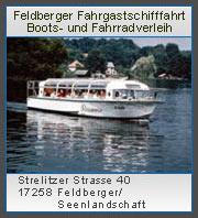 Schiffsrundfahrten, Boots- und Fahrradverleih Feldberg