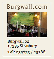 Gasthof Burgwall Strasburg