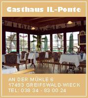 Gasthaus Il Ponte Greifswald Wieck