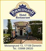 Hotel Pommernland Demmin