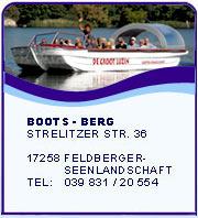 Service rund um's Boot in Feldberg
