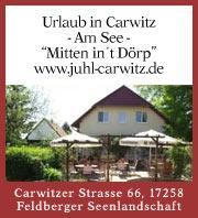 """Urlaub in Carwitz - Am See - """"Mitten in't Dörp"""""""