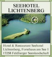 Seehotel Lichtenberg in der Mecklenburgischen Seenplatte