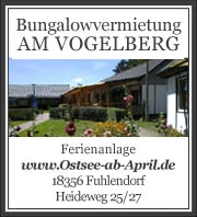 Bungalowvermietung in Fuhlendorf