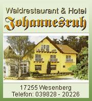 Hotel Johannesruh - Wesenberg