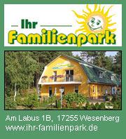 familienfreundliche Ferienanlage am Labussee - Wesenberg