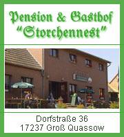 Pension Storchennest - Kleinseenplatte Neustrelitz