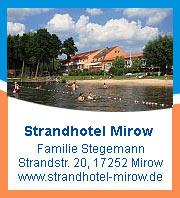 Hotel und Restaurant am Mirower See - Kleinseenplatte