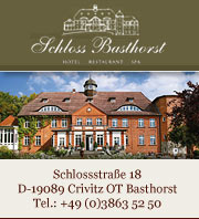 Schloss Basthorst: Urlaub in der Mecklenburgischen Seenplatte