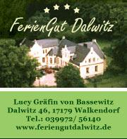 Feriengut Dalwitz - Reiturlaub in Mecklenburg