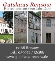 Ferienwohnungen im Gutshaus Rensow
