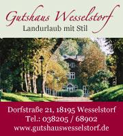 Ferienwohnungen im Gutshaus Wesselstorf