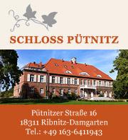Schloss Pütnitz - Ferien in den Recknitzauen
