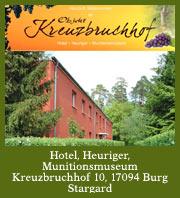 Hotel Kreuzbruchhof mit Weinterrasse